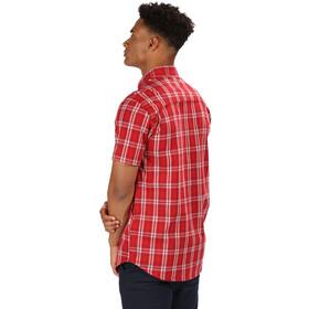 Regatta Honshu IV Camisa Manga Corta Hombre, classic red